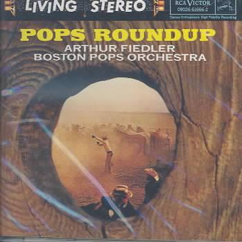 POPS ROUNDUP BY FIEDLER/BOSTON POPS (CD)